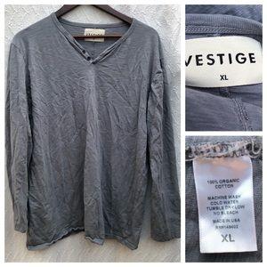 Vestige Long Sleeve T-Shirt Organic Cotton